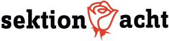 Logo der Sektion 8 der SPÖ Alsergrund